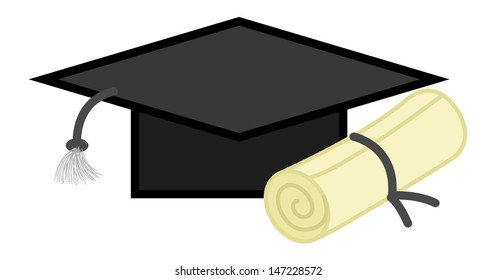 Graduation Degree - Office Character Vectors
