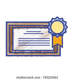 graduation diploma certificate with wood frame design