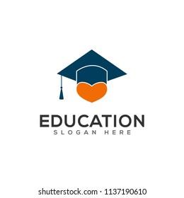 graduation, education logo and symbol