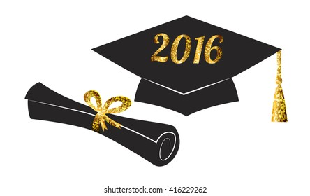 graduation cap and diploma images stock photos vectors shutterstock rh shutterstock com Diploma Clip Art free graduation cap and diploma clipart