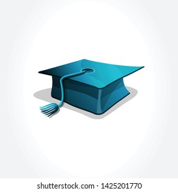 Graduation Hat. Isolated icon for graduation.