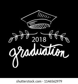 Graduation logo concept.