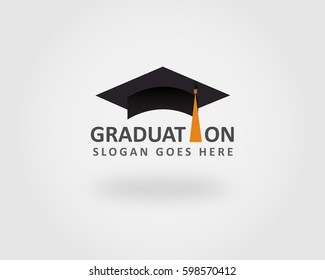 Graduation Logo Template Design Element
