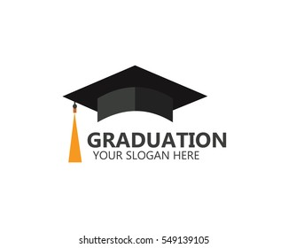 Graduation logotyp mall Design Elements