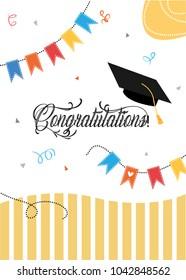 Graduation party and a graduation cap