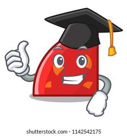 Graduation quadrant character cartoon style