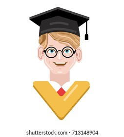 Scholar images stock photos vectors shutterstock graduation student and scholar happy student happy at graduation ceremony student in mortar board stopboris