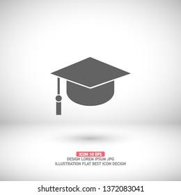 Graduation Vector icon