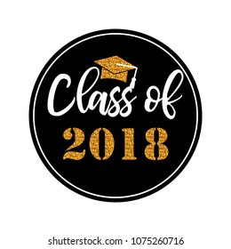 Graduation wishes overlays, lettering labels design. Template for graduation design, t-shirt, high school or college graduate, yearbook. Modern calligraphy. Vector illustration.