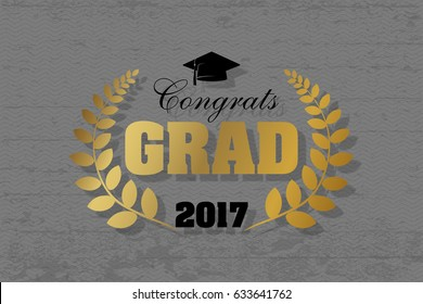 Graduation wishes overlays, lettering labels design. Congrats graduates. Isolated. Sign or logo