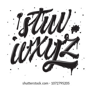 Graffiti Alphabet Images Stock Photos Vectors Shutterstock