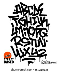 Graffiti Alphabet Images Stock Photos Vectors Shutterstock
