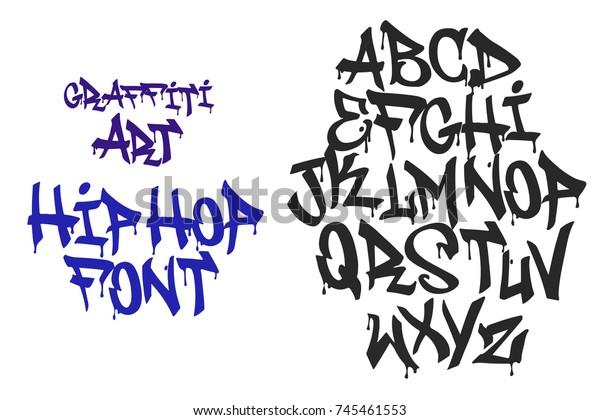 Image Vectorielle De Stock De Graffiti Hip Hop Lettres