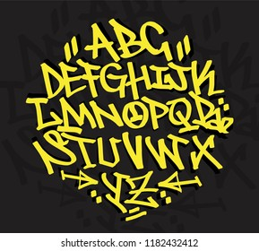 Graffiti Hiphop Font