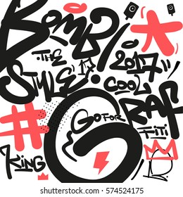Graffiti pattern