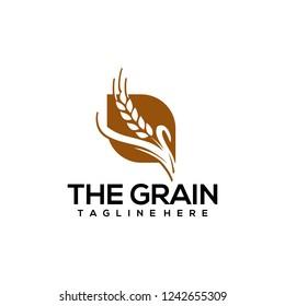 Grain Logo Design