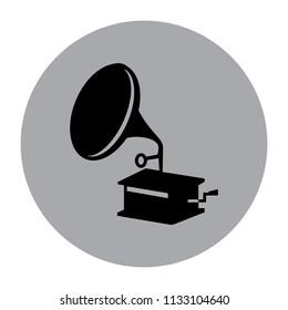 gramaphone vector icon