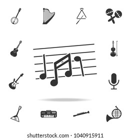 Gramophone icon. Detailed set icons of Music instrument element icons. Premium quality graphic design. One of the collection icons for websites, web design, mobile app on white background
