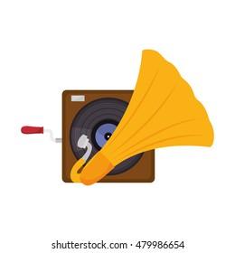 gramophone vinyl music device