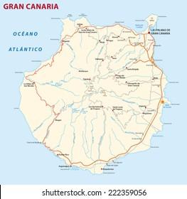 Imagenes Fotos De Stock Y Vectores Sobre Mapa Gran Canaria