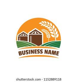 Granary and Farm Logo Design