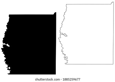 Grand County, State of Utah (U.S. county, United States of America, USA, U.S., US) map vector illustration, scribble sketch Grand map