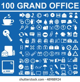 Grand Office Signs Vector