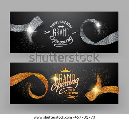 Sparkling Silver Banners Bundle Banners