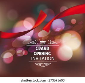 Invitation Card Grand Opening Images Stock Photos Vectors