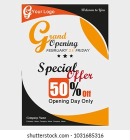 grand opening Offer Brochure