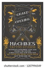Grand Opening Studio Flyer Template
