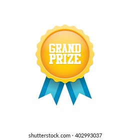 Grand Prize Badge Medal