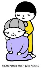 grandchild grandmother care
