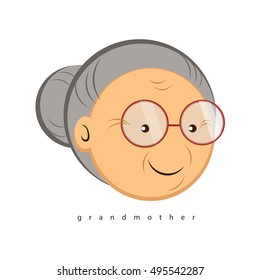 Grandmother simple Vector