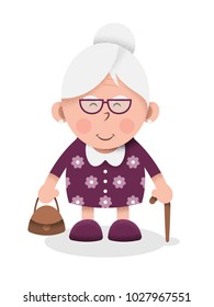 Grandmother vector illustration