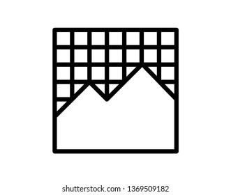 Grap vector icon - vector