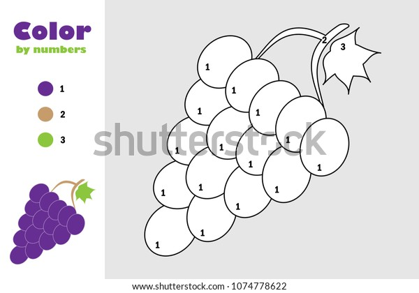 Grape 15, coloring page, Supercoloringpages.com | Fruit coloring ... | 420x600