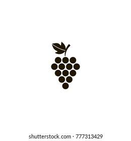 grape icon. sign design