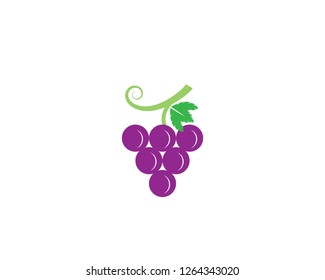 Grape symbol illustration