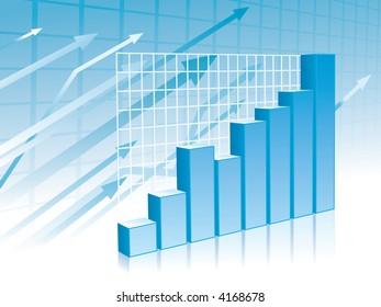 Graph background (blue)