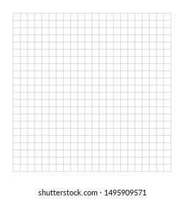 Graph, drafting paper regular square lines grid, mesh pattern. Wireframe texture. Bisect, traverse lines background. simple grating, trellis or lattice of cross lines