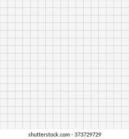 Graph grid seamless squared cells paper background. Millimeter paper sheet pattern. EPS10 vector