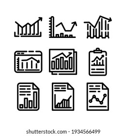 graph icon or logo isolated sign symbol vector illustration - Collection of high quality black style vector icons