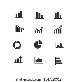 Graph Icon Set