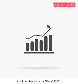 Graph Icon Vector.