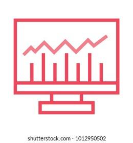 graph monitor screen