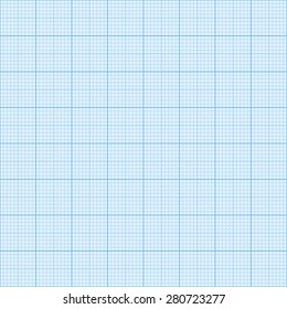 Graph paper background for drawings. Vector. Eps10