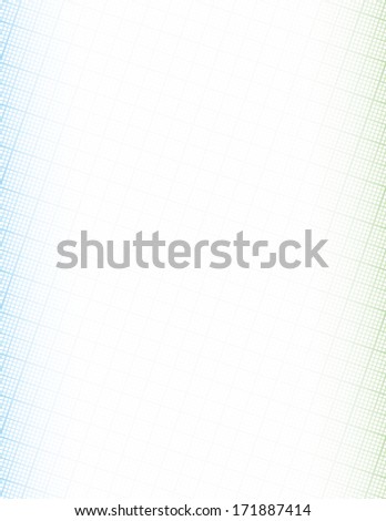 graph paper frame background copy space stock vector royalty free