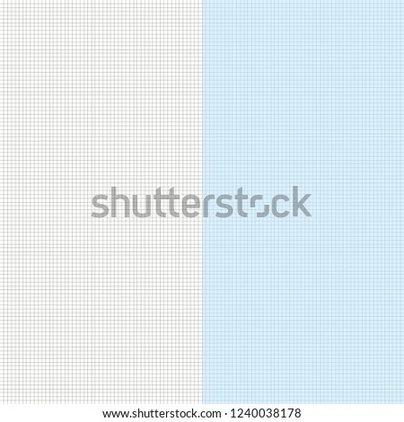 graph paper sealess pattern abstract blueprint stock vector royalty