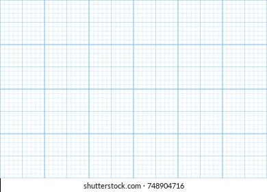 graph paper. seamless pattern. architect background. blue millimeter grid template. vector illustration